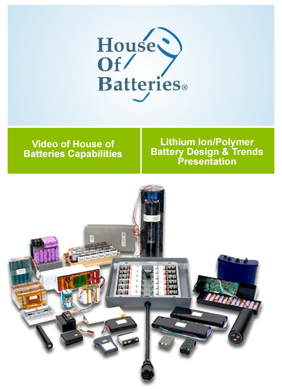 Custom Battery Pack Manufacturer